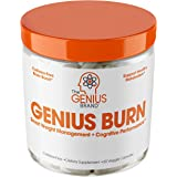 Genius Fat Burner - Thermogenic Weight Loss & Nootropic Focus Supplement - Natural Metabolism & Energy Booster for Men & Wome