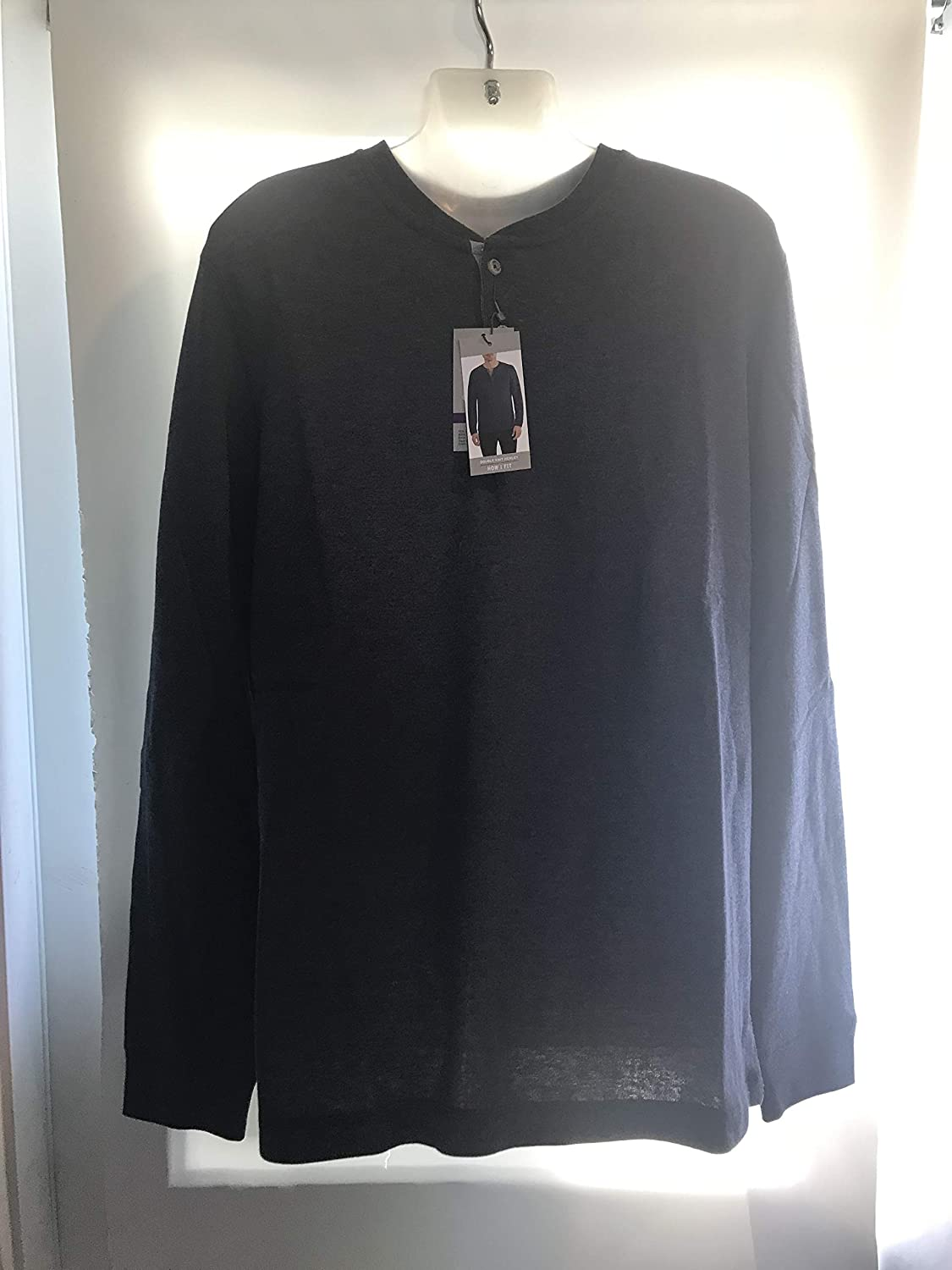 Eddie Bauer Long Sleeve Double Knit Henley