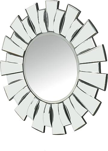 Christopher Knight Home Tamina Glam Sun Burst Circular Wall Mirror, Mirror