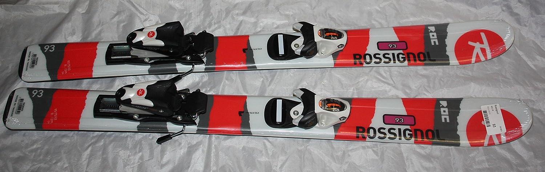B01AJBPLTE Rossignol ROC Jr Kids Skis 93cm comp Kid Adjustable bindings New 81Vq1wWG18L.SL1500_