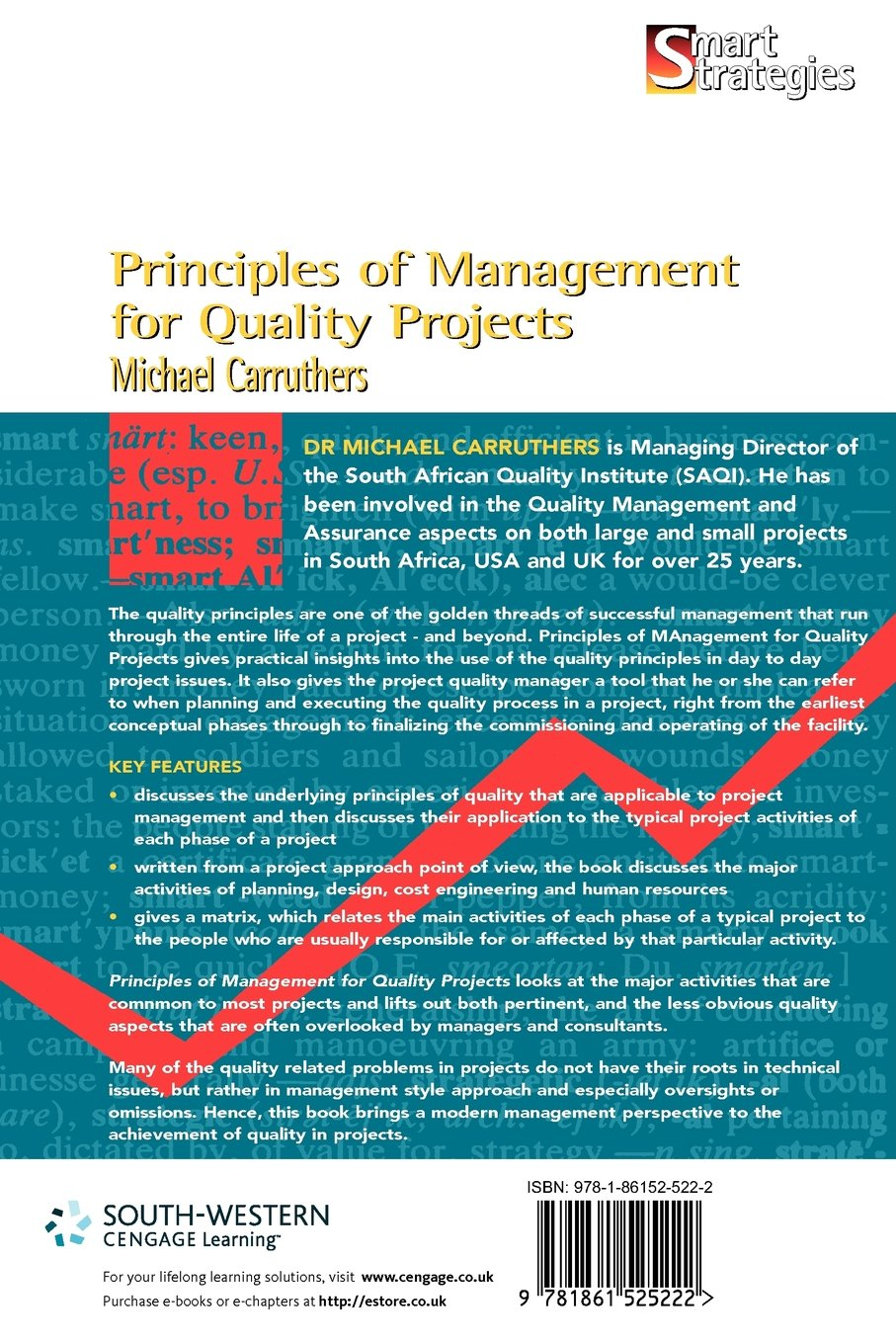 Principles of management for quality projects smart strategies principles of management for quality projects smart strategies michael c carruthers 9781861525222 amazon books fandeluxe Choice Image