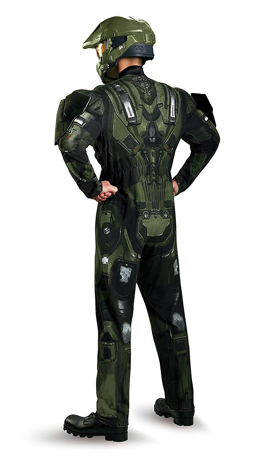 Disguise Limited Boys Plus Size Deluxe Muscle Master Chief ...