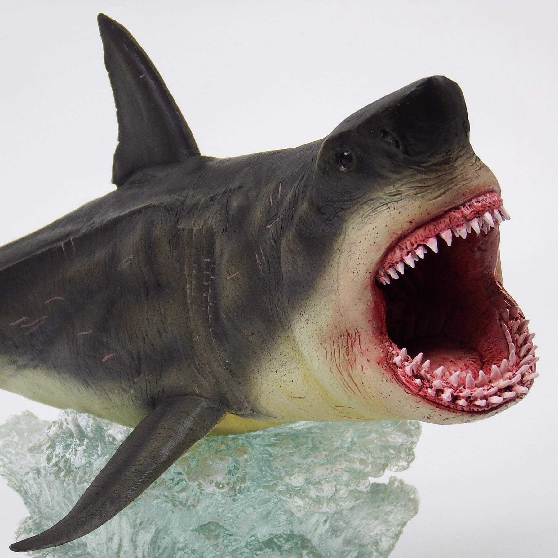 Megalodon Toy Shark Statue Figurine The MEG Paleontology Collectibles Oceanic Nautical Display by GemShark Collectiobles (Image #7)