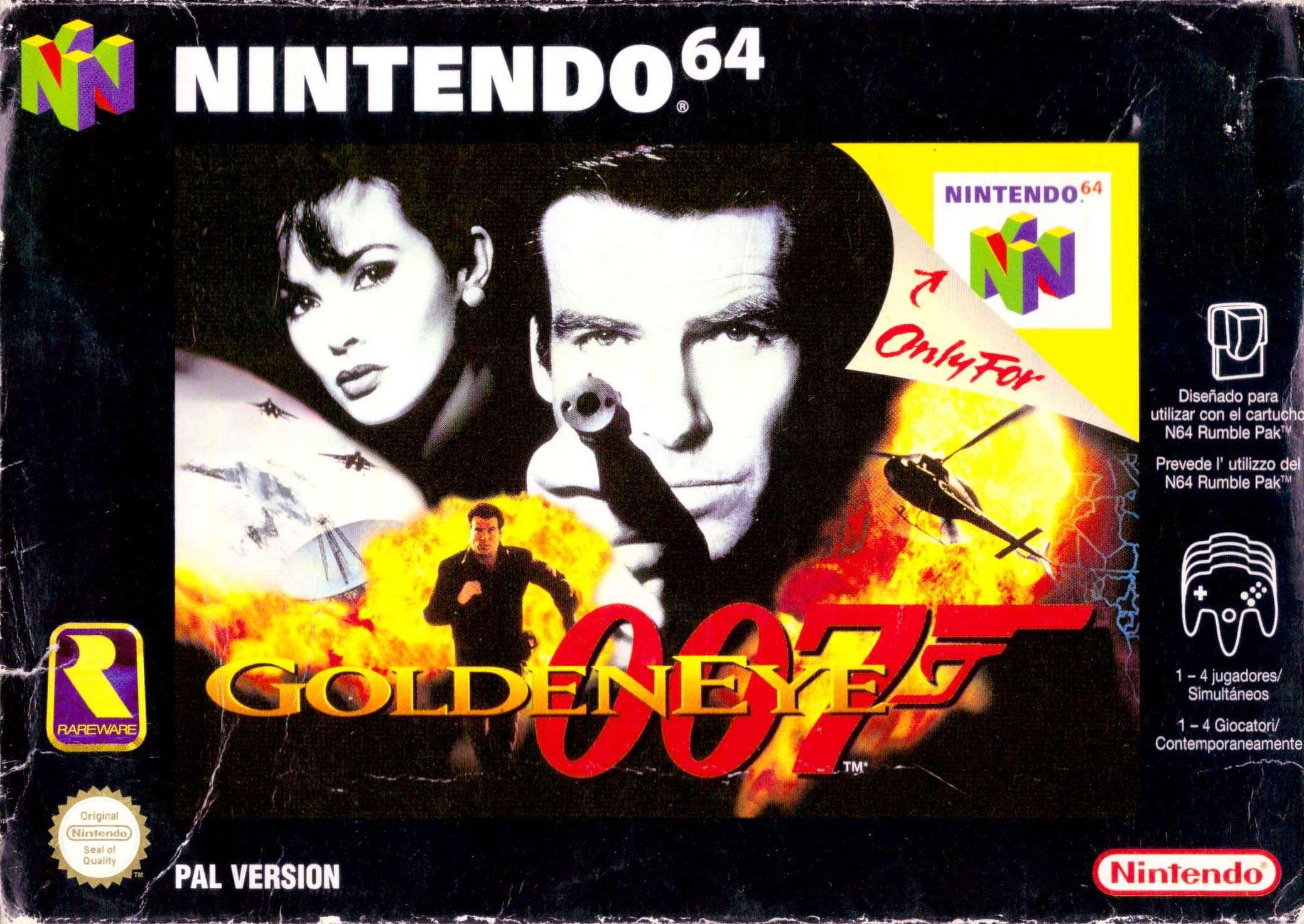 Amazon.com: GoldenEye 007: Video Games