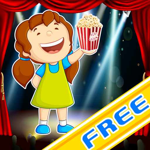 Hollywood Movie Theater   The Butter Popcorn Shooting Contest Game   Free Edition