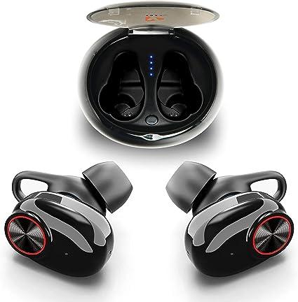 Auriculares Bluetooth 5.0,Auriculares Deportivos inal/ámbricos en la Oreja,cancelaci/ón de Ruido est/éreo 3D,Emparejamiento autom/ático,IPX5 a Prueba de Agua Compatible con Samsung//Huawei//iPhone//Airpods