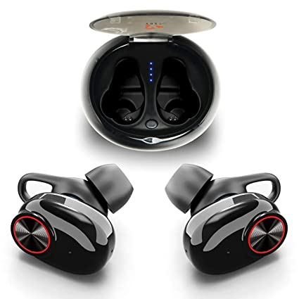796b9f6cfc3 True Wireless Earbuds Bluetooth 5.0 by YOZZ Play | Cordless Headphones with  Build-in Microphone