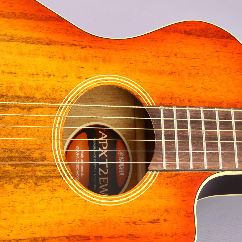 Yamaha apxt2ew exótico madera 3/4 tamaño de guitarra electroacústica Cutaway Guitarra con Legado accesorio Bundle, muchas opciones: Amazon.es: Instrumentos ...