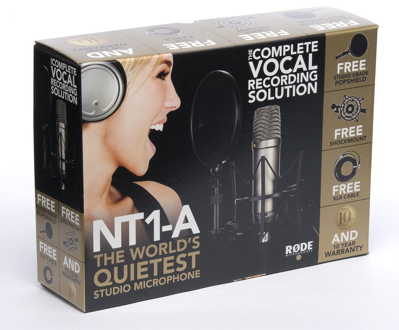 Studio Mikrofon für Gesang und Rap von Rode