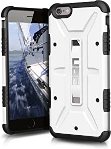 UAG iPhone 6 Plus / iPhone 6s Plus [5.5-inch screen] Feather-Light Composite [WHITE] Military Drop Tested Phone Case