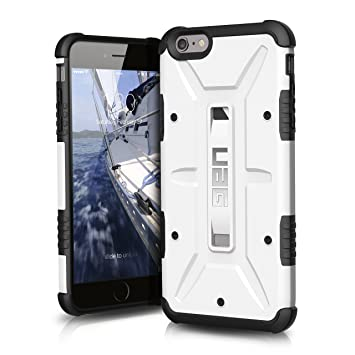 19f9f3d30c4 URBAN ARMOR GEAR Composite - Funda para móvil Apple iPhone 6 Plus, Blanco:  Amazon.es: Electrónica