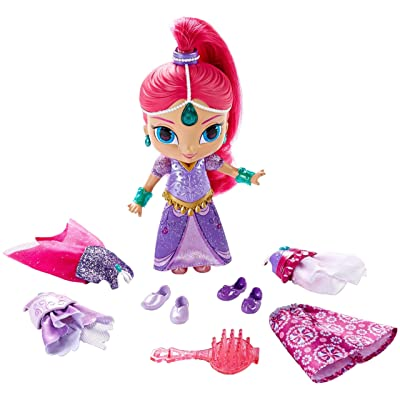 Fisher-Price Nickelodeon Shimmer & Shine, Magic Dress Shimmer: Toys & Games