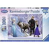 Ravensburger - 10516 - Puzzle Enfant Classique - La  Reine des Neiges - Royaume Reine Neiges  - 100 Pièces XXL