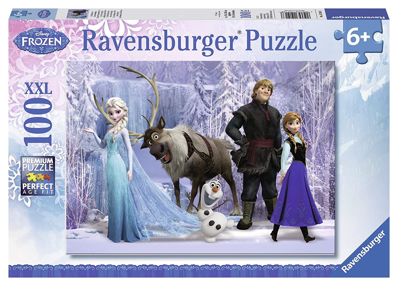 amazon com ravensburger disney frozen jigsaw puzzle 100 piece