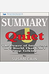 Summary: Quiet: The Power of Introverts in a World That Can't Stop Talking Audible Audiobook
