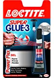 Loctite Super Glue-3 Power Flex - Adhesivo multimaterial (3 g), 1 unit