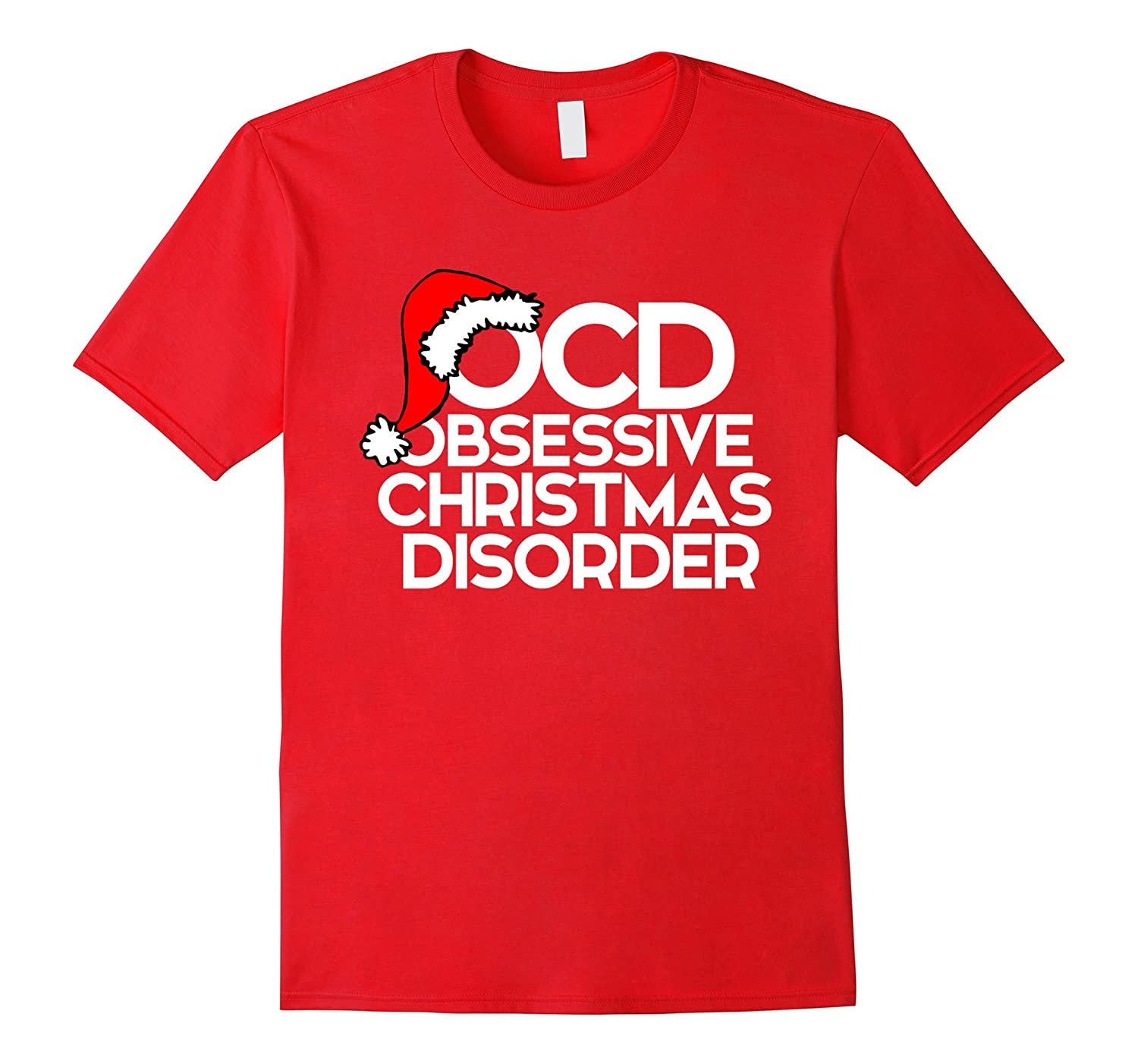 OCD Obsessive Christmas Disorder shirt for xmas party-ANZ - Anztshirt