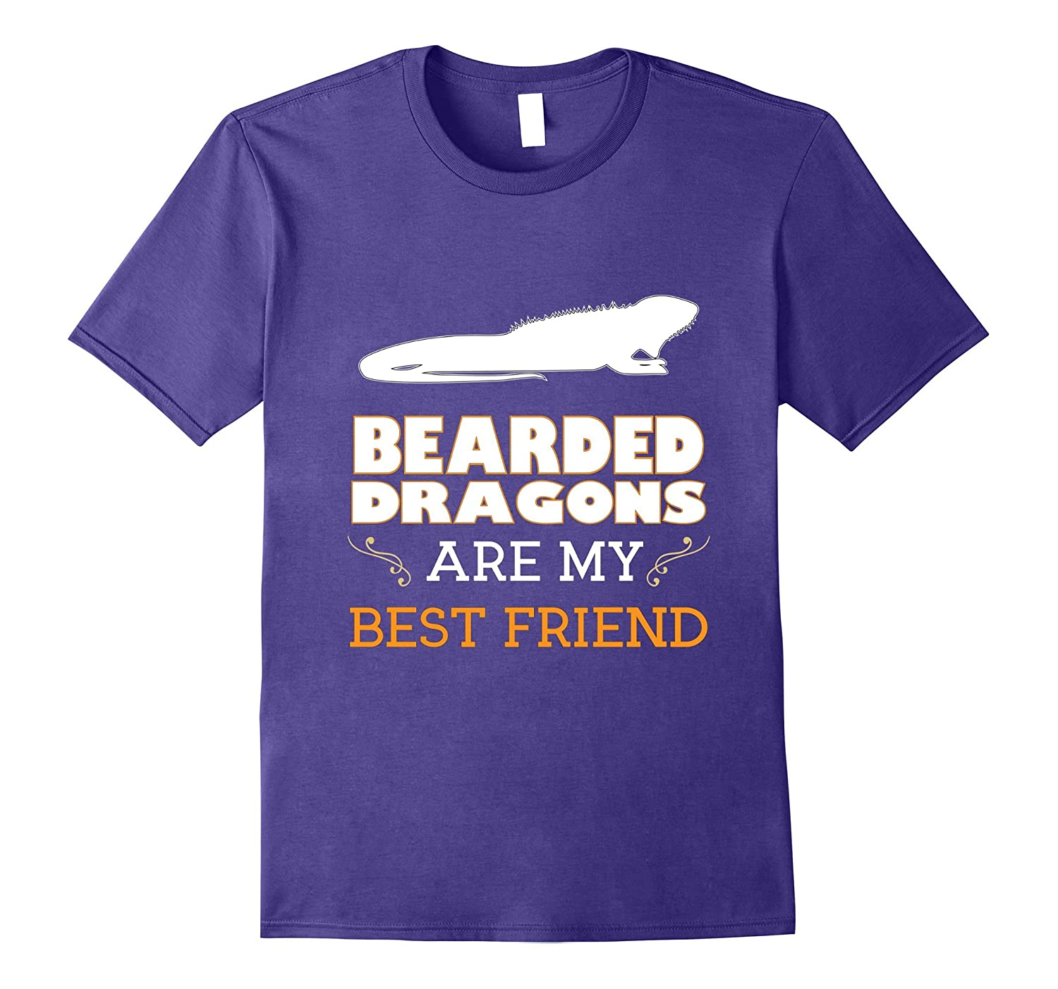 Bearded Dragons are My Best Friend Animal Lover T-Shirt-Vaci
