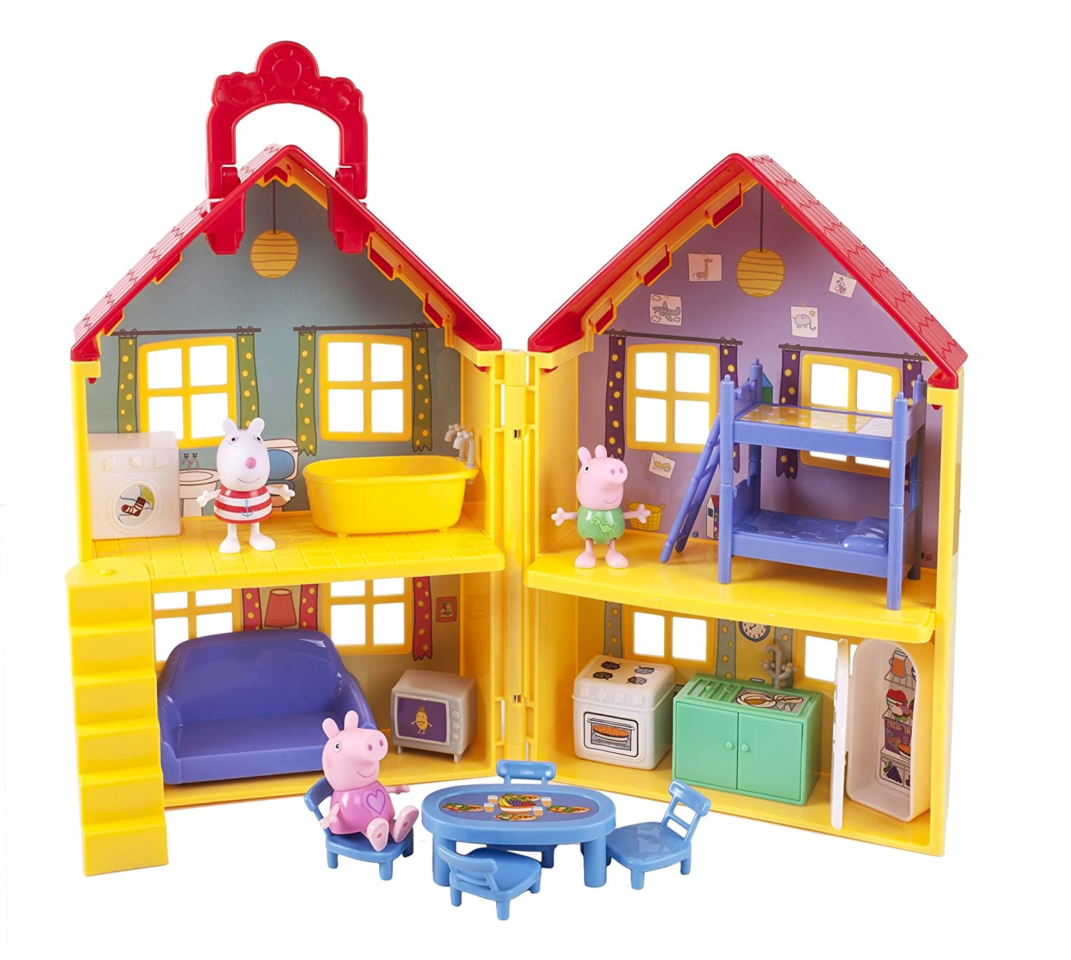 Amazon Peppa Pig s Deluxe House Toys & Games