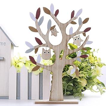 Valery Madelyn Ostern Dekoration Baumform 38cm Fruhling Holz