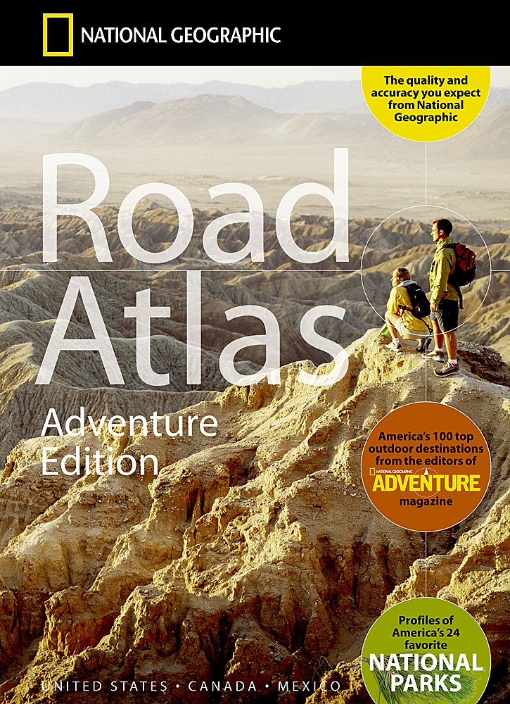 National Geographic Road Atlas - Adventure Edition [National Geographic Maps] (Tapa Blanda)
