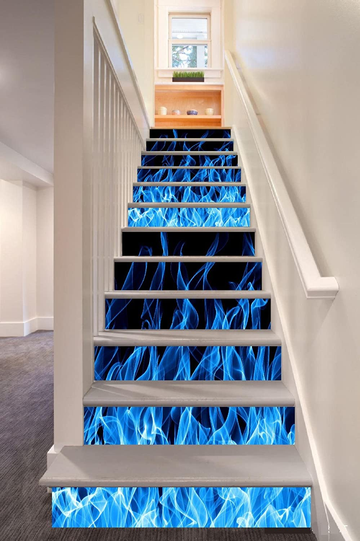 GJ-3D Creative Escaleras, peldaños, calcomanías, pegatinas de escalera (100cm x 18cm*6)Pegatinas: Amazon.es: Hogar