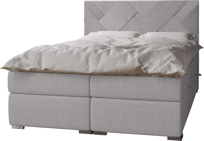Mirjan24 - Cama con somier Nomad con 2 canapé tapizado ...