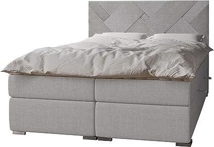 Mirjan24 - Cama con somier Nomad con 2 canapé tapizado con ...