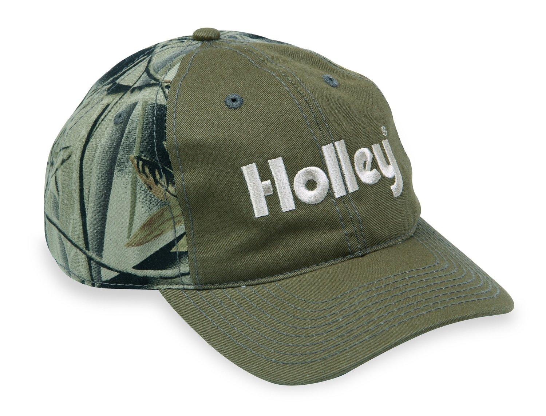 Holley 10018HOL Green//Camo Cap