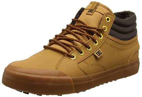 Evan Smith Hi WNT Zapatillas Hombre, Marrón (Wheat), 42.5 EU (8.5 UK) DC