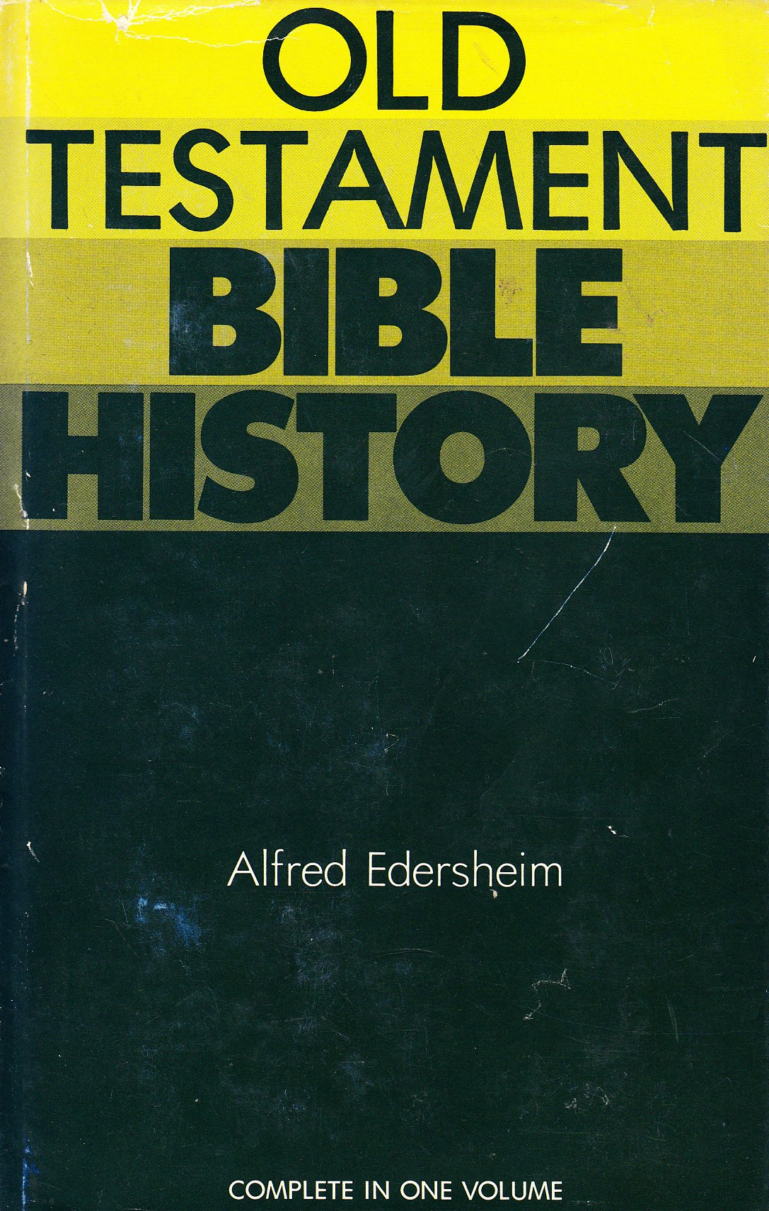 Old Testament Bible History, Edersheim, A.