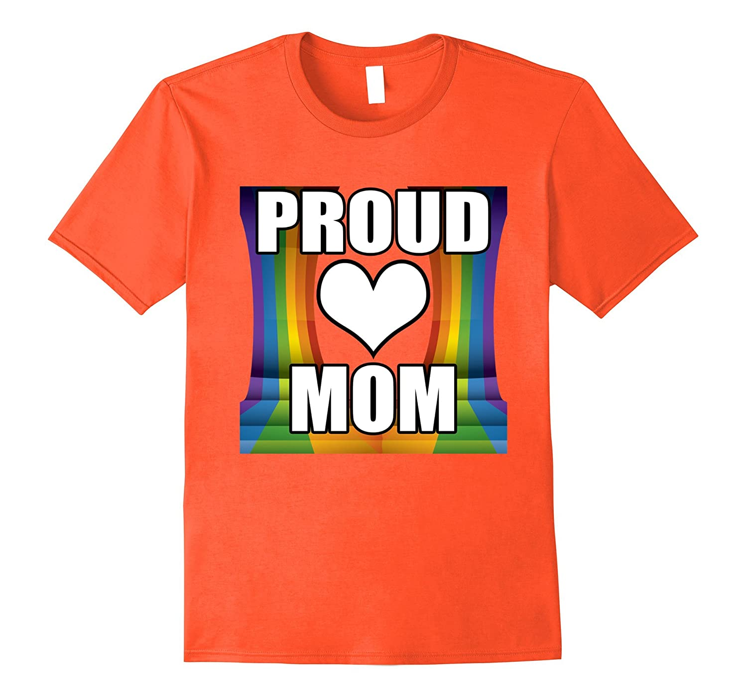 Gay Pride Ally Shirt Friends Proud LGBT Mom T-Shirt-PL