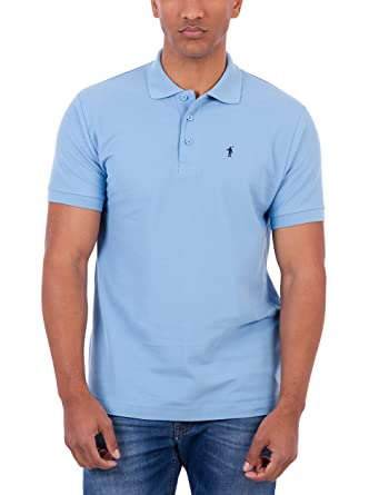 POLO CLUB Polo Original Mini Rigby CRO Azul Celeste 3XL: Amazon.es ...