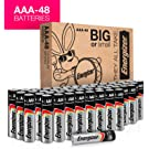 Energizer AAA Batteries (48 Count), Triple A Max Alkaline Battery – Packaging May Vary