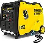 Champion Power Equipment 200987 4500-Watt RV Ready Portable Inverter Generator, Wireless