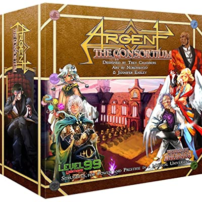 Level 99 Games Argent: The Consortium: Toys & Games