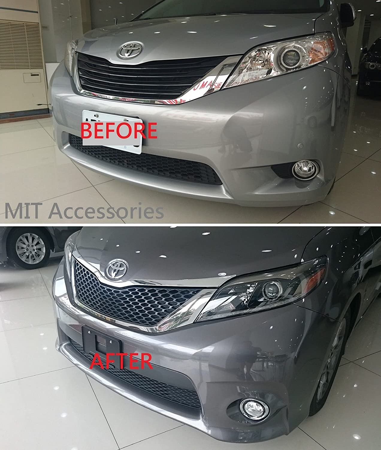 Amazon.com: Toyota SIENNA 3rd Gen Front Grill SE style OEM+ ...