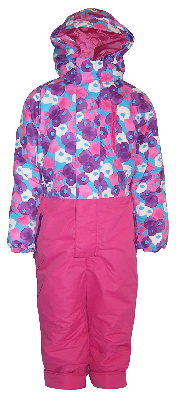 8b031d4dc7a6 Amazon.com  Pulse Little Girls  and Toddler 1 Piece Snowsuit ...