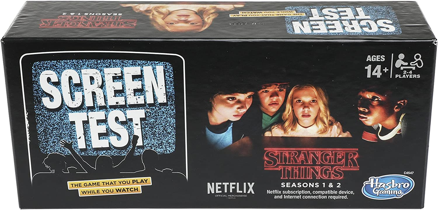 Stranger Things Screen Test Game Standard: Amazon.es: Juguetes y juegos