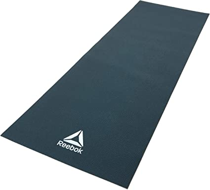 Desviación Hito chocar  Amazon.com : Reebok Yoga Mat, Dark Green, 4mm : Sports & Outdoors