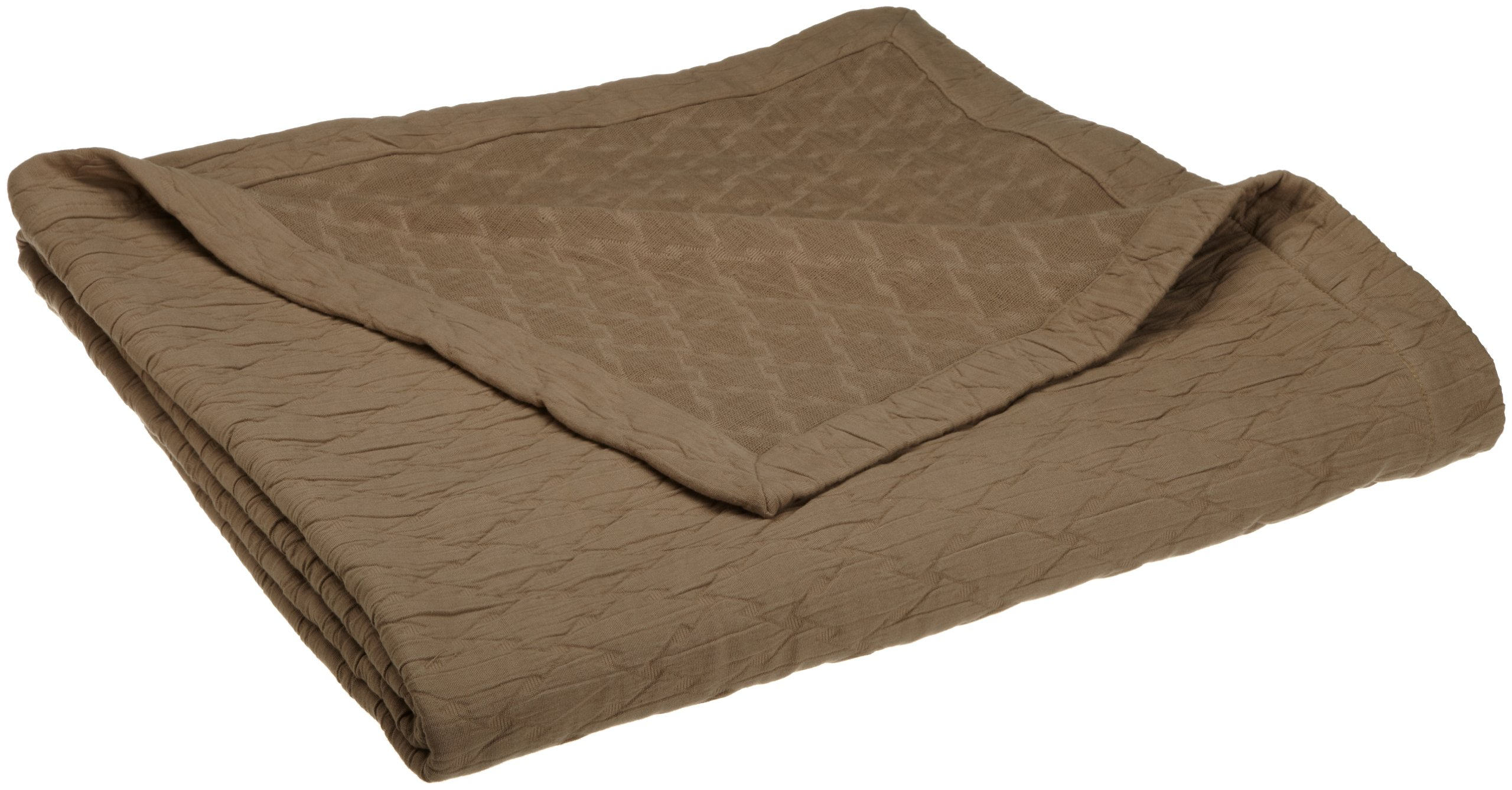 Peacock Alley Othello Coverlet, Queen, Driftwood