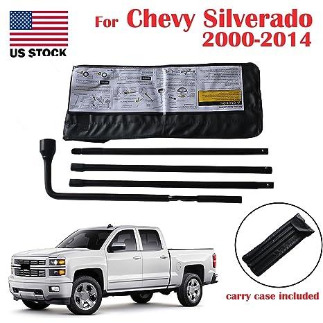 Para Chevrolet Silverado 2000 – 2014 Rueda de repuesto de conector de llave para cambiar herramientas