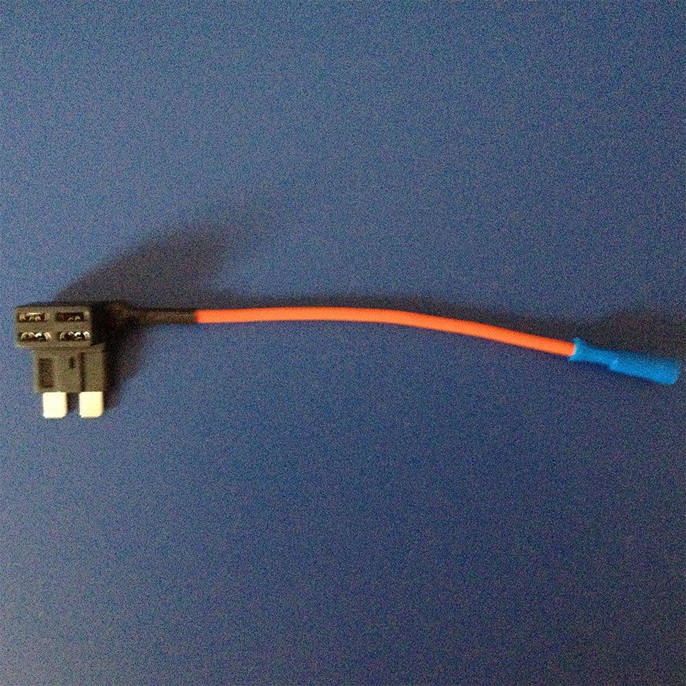 HMOCNV 1PCS auto camion fusibile mini cavo adattatore rubinetto doppio circuito adattatore supporto