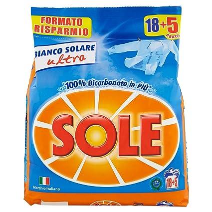 Sole Detersivo Lavatrice Polvere, 18 Lavaggi: Amazon.it: Amazon Pantry