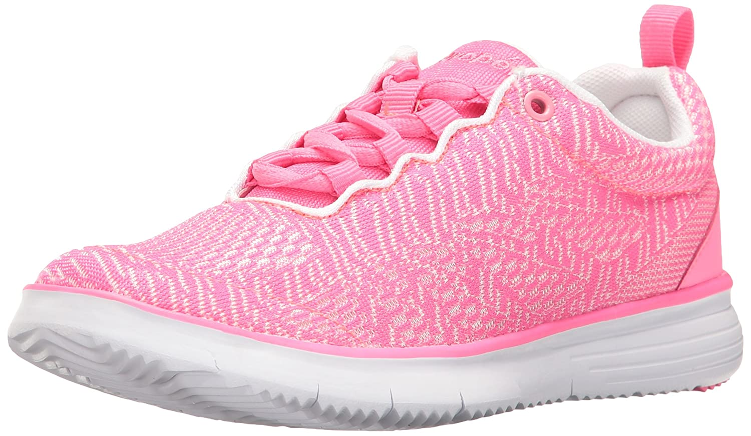 Propet Women's TravelFit Pro Walking Shoe B01KNVHGDO 9.5 4E US|Pink/White