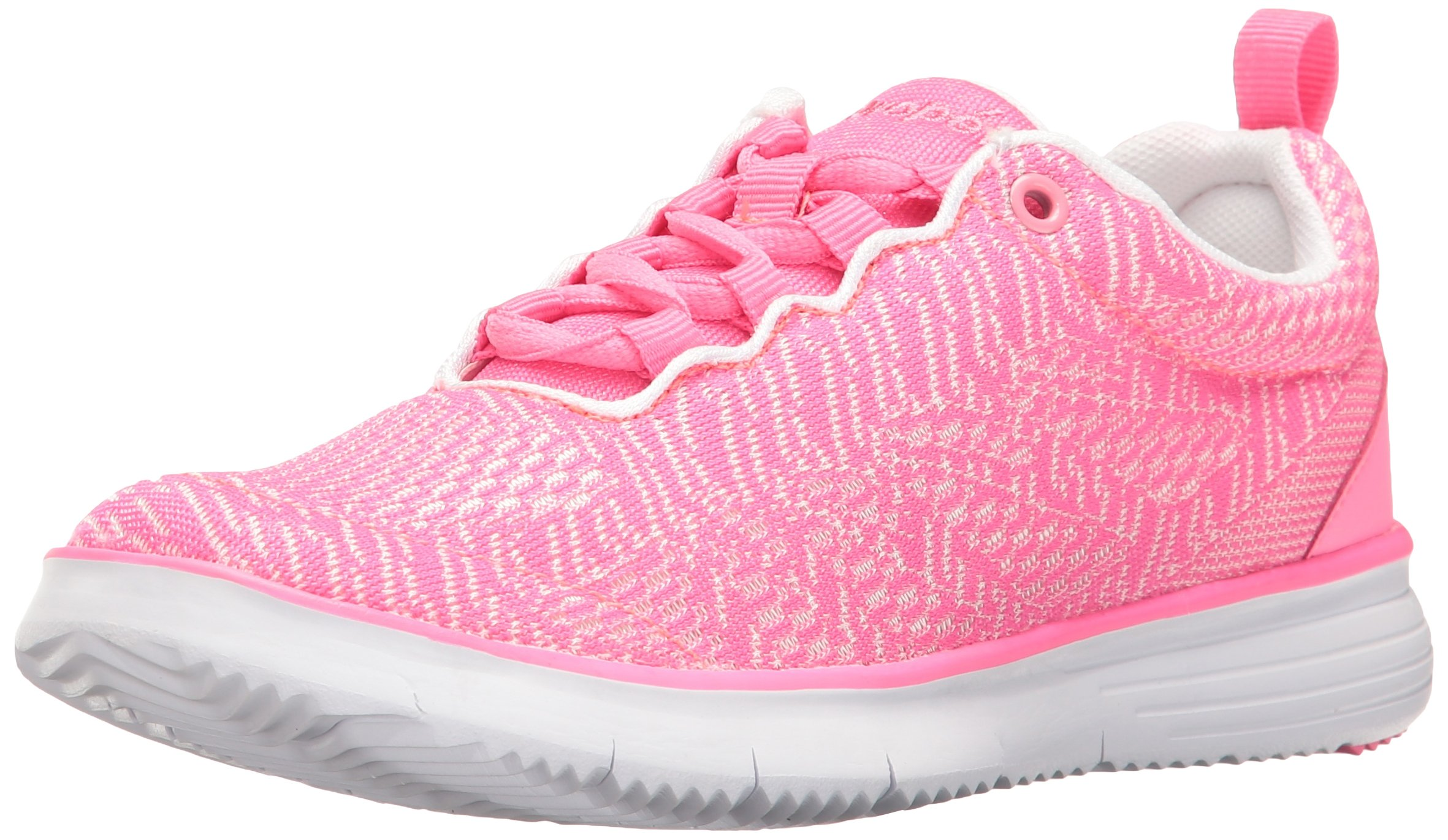 Propet Women's TravelFit Pro Walking Shoe, Pink/White, 7 2E US