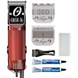 Oster Classic 76 Professional Hair Clippers for Barbers and Men, Hair Clipper Set, Brown