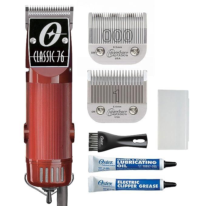 BARBER SHOP Metal Shave Oster Clipper Hair Nail Salon Polish Vintage Style 2
