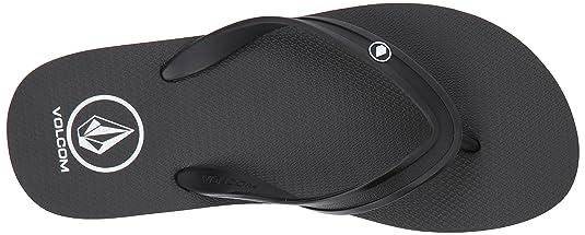 9d40cecb91e934 Amazon.com  Volcom Men s Rocker 2 Solid Flip Flop Sandal  Shoes