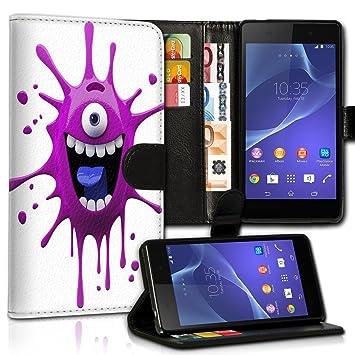 wicostar Wallet Funda Case Funda Carcasa diseño Funda para Samsung Galaxy S4 i9500/i9505 – Variante umv40 design9